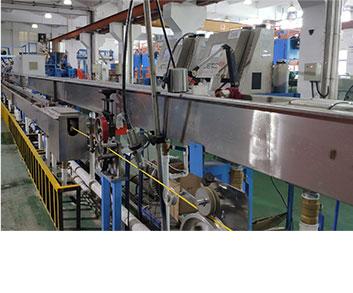 线缆喷印设备可匹配高速绕盘机使用
