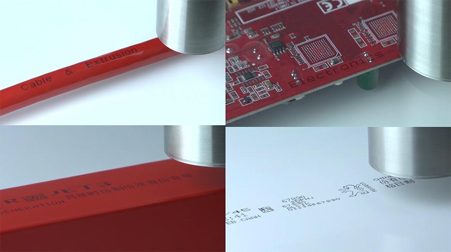 莱宾格JET3up小字符喷印效果