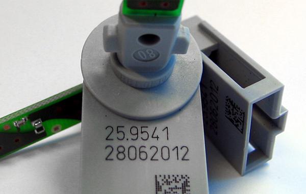 电子行业塑料喷码应用