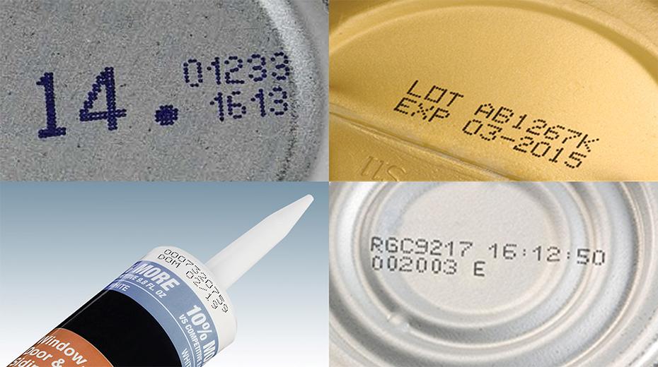 依玛士9040小字符喷印效果