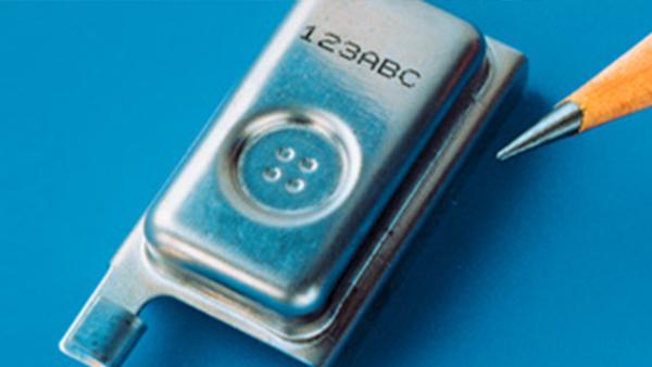 电子金属喷码应用
