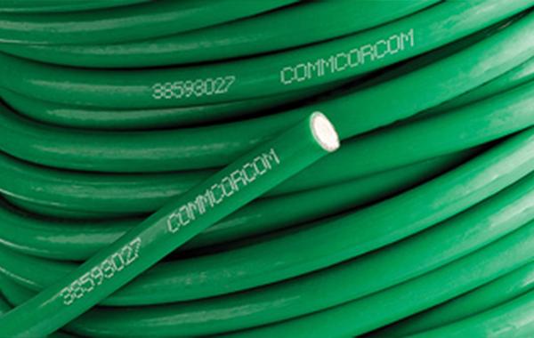打印效果电缆行业塑料喷码应用