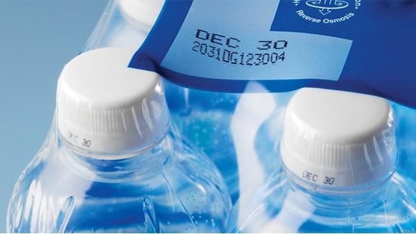 饮品行业收缩包装喷码应用